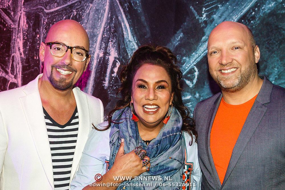 NLD/Aalsmeer/20160330 - Persdag Met de Deur in Huis, Maik de Boer, Patty Brard