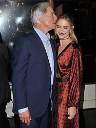 (L-R) Mark Harmon and Emily Wickersham at the TV Guide Magazine and CBS Celebrate Mark Harmon Cover & 15 Seasons Of NCIS held at the River Rock at Sportsmen's Lodge in Studio City, CA on Monday, November 6, 2017. (Photo By Sthanlee B. Mirador/Sipa USA)