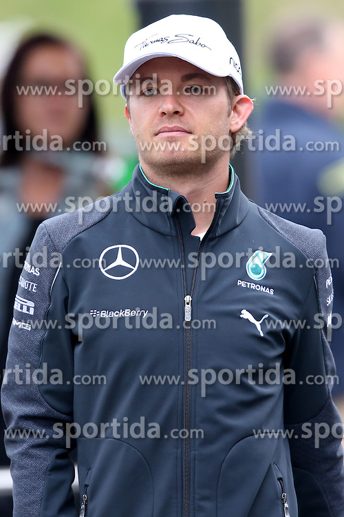 21.06.2014, Red Bull Ring, Spielberg, AUT, FIA, Formel 1, Grosser Preis von &Ouml;sterreich, Qualifying, im Bild Nico Rosberg (GER) Mercedes AMG F1. // during the qualifying of the Austrian Formula One Grand Prix at the Red Bull Ring in Spielberg, Austria on 2014/06/21. EXPA Pictures &copy; 2014, PhotoCredit: EXPA/ Sutton Images/ Boland<br /> <br /> *****ATTENTION - for AUT, SLO, CRO, SRB, BIH, MAZ only*****