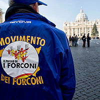 Movimento dei forconi  siciliani  in Vaticano