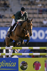 Lennon Dermott (IRL) - Liscalgot<br /> Round 1 <br /> World Equestrian Games Jerez de la Fronteira 2002<br /> Photo © Hippo Foto - Dirk Caremans