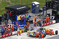 May 6, 2018 - Dover, Delaware, United States of America - Ricky Stenhouse, Jr (17) comes down pit road for service during the AAA 400 Drive for Autism at Dover International Speedway in Dover, Delaware. (Credit Image: © Justin R. Noe Asp Inc/ASP via ZUMA Wire)