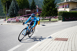 Sheyla Gutierrez Ruiz (ESP) during Stage 6 of 2019 Giro Rosa Iccrea, a 12.1 km individual time trial from Chiuro to Teglio, Italy on July 10, 2019. Photo by Sean Robinson/velofocus.com