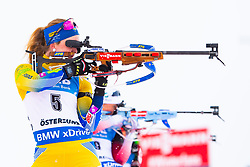March 10, 2019 - –Stersund, Sweden - 190310 Mona Brorsson of Sweden during the Women's 10 km Pursuit during the IBU World Championships Biathlon on March 10, 2019 in Östersund..Photo: Petter Arvidson / BILDBYRÃ…N / kod PA / 92254 (Credit Image: © Petter Arvidson/Bildbyran via ZUMA Press)