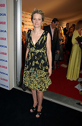 EDITH BOWMAN at the 2006 Glamour Women of the Year Awards 2006 held in Berkeley Square Gardens, London W1 on 6th June 2006.<br />