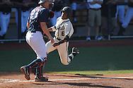 Ole Miss vs. Vanderbilt's Tony Kemp (6) scores at Oxford-University Stadium Stadium in Oxford, Miss. on Saturday, April 6, 2013. Vanderbilt won 2-1.