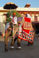 Inde, Rajasthan, Jaipur, le City Palace // India, Rajasthan, Jaipur, the City Palace