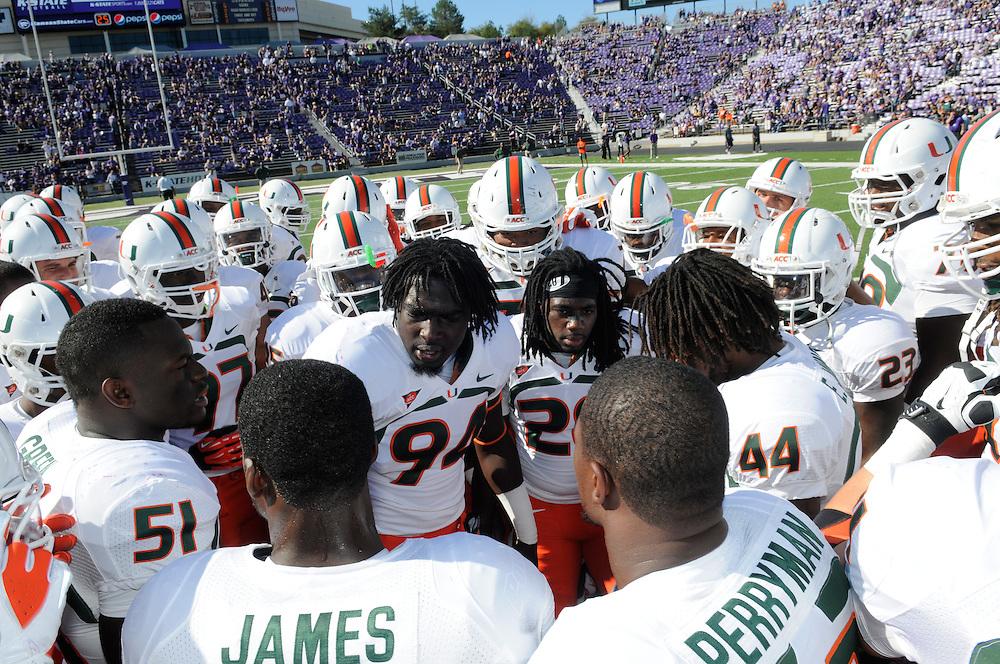 2012 Miami Hurricanes Football @ Kansas State