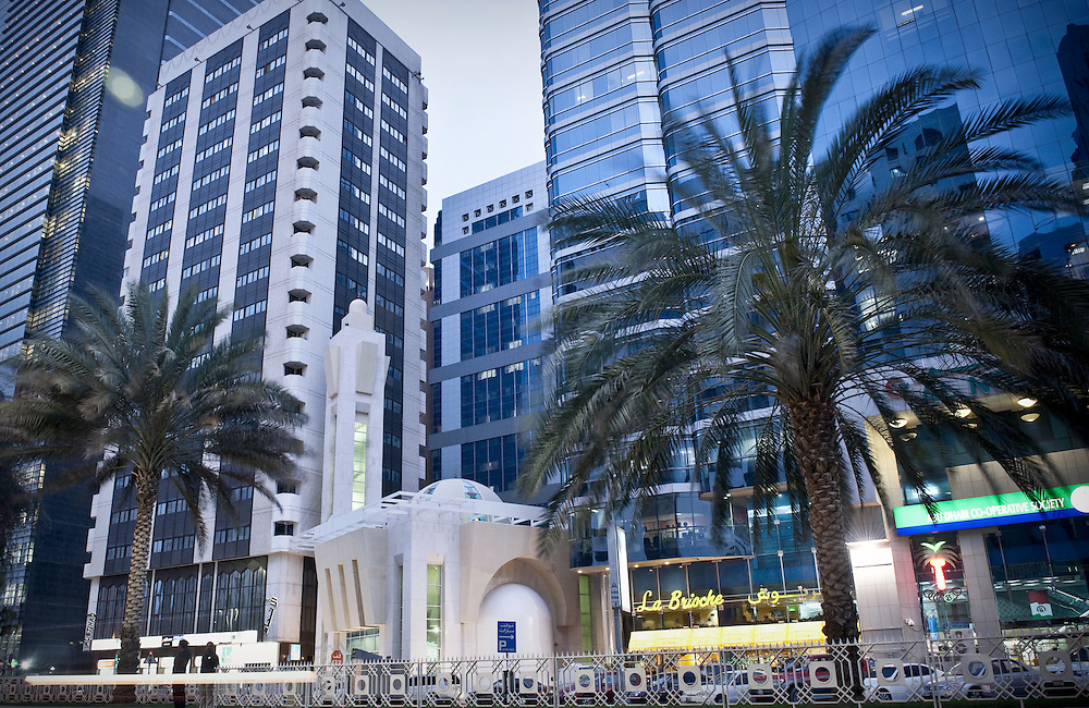 Abu Dhabi, United Arab Emirates 03 April 2009. General view in downtown Abu Dhabi.
