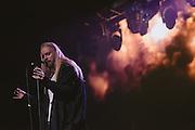 Photos of the Icelandic musician Högni Egilsson of HE performing live during Sónar Reykjavík music festival at Harpa concert hall in Reykjavík, Iceland. February 13, 2014. Copyright © 2014 Matthew Eisman. All Rights Reserved