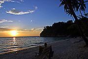 Sun set at Koh Samui, Thailand