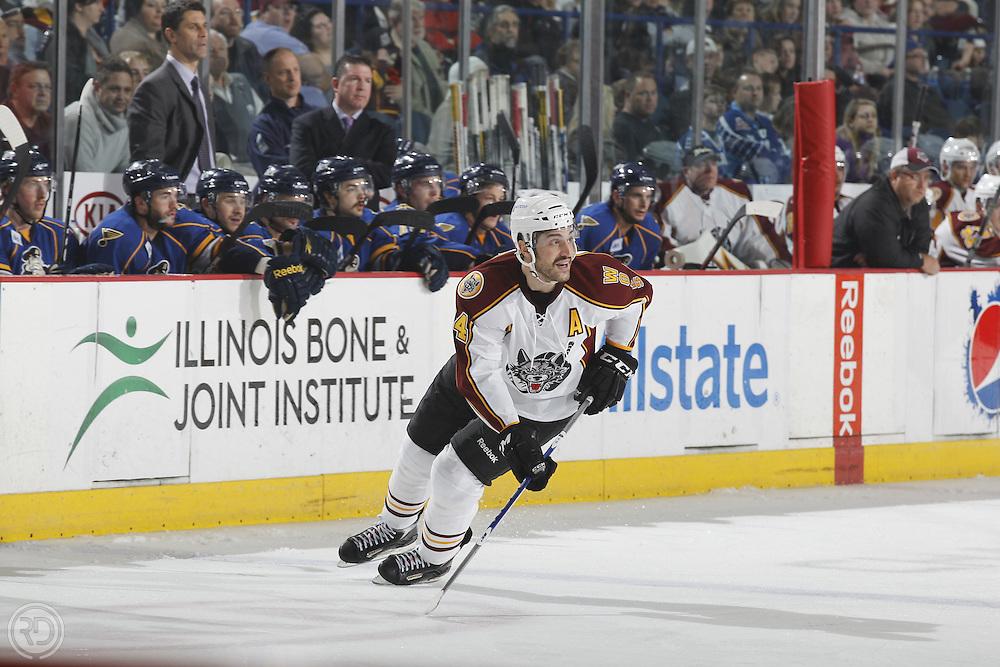 Chicago Wolves 2011-12 Season.Photograph by Ross Dettman..#24 Mark Mancari
