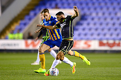 Liam Sercombe of Bristol Rovers is closed down by Alex Rodman of Shrewsbury Town - Mandatory by-line: Dougie Allward/JMP - 17/10/2017 - FOOTBALL - Greenhous Meadow - Shrewsbury, England - Shrewsbury Town v Bristol Rovers - Sky Bet League One