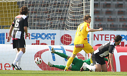 16.04.2011, Stadion der Stadt Linz, Linz, AUT, 1.FBL, LASK Linz vs KSV Superfund, im Bild 2:0 fuer Kapfenberg, EXPA Pictures © 2011, PhotoCredit: EXPA/ R. Hackl