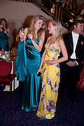 CHARLOTTE YONGE; CATRIONA RAMSAY, The Royal Caledonian Ball 2011. In aid of the Royal Caledonian Ball Trust. Grosvenor House. London. W1. 13 May 2011.<br /> <br />  , -DO NOT ARCHIVE-© Copyright Photograph by Dafydd Jones. 248 Clapham Rd. London SW9 0PZ. Tel 0207 820 0771. www.dafjones.com.