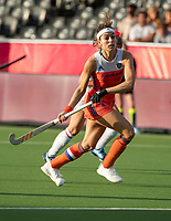 ANTWERPEN - Eva de Goede (Ned)    tijdens  hockeywedstrijd  dames,Nederland-Spanje ,   bij het Europees kampioenschap hockey.   COPYRIGHT  KOEN SUYK