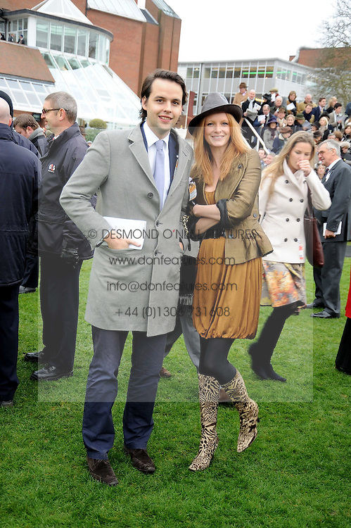 CHARLIE GILKES and OLIVIA INGE at the 2008 Hennessy Gold Cup held at Newbury racecourse, Berkshire on 29th November 2008.<br /> <br /> NON EXCLUSIVE - WORLD RIGHTS
