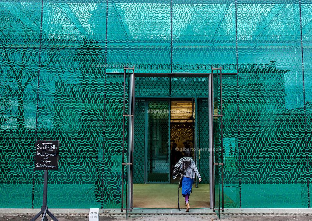 Switzerland, Zurich: Museum Rietberg shop and concert hall