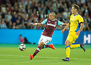 West Ham United v NK Domzale - UEFA EL 3rd qualifying round 2nd leg - 04/08/2016