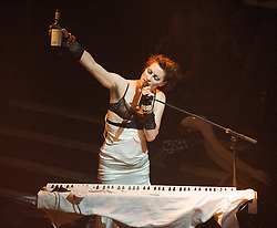 Amanda Palmer during her live performance of her songs from her latest album 'Theatre Evil', KOKO, Camden Town, London, Great Britain, October 23, 2012. Photo by Elliot Franks / i-Images.