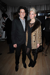 STEPHEN WEBSTER and his daughter AMY WEBSTER at The Rodial Beautiful Awards in aid of the charity Kids Company held in the Billiard Room at The Sanderson, 50 Berners Street, London on 3rd February 2010.