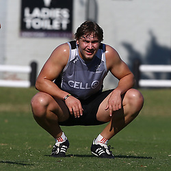 DURBAN, SOUTH AFRICA Monday 22nd June  - Etienne Oosthuizen during the Cell C Sharks training session at Growthpoint Kings Par in Durban, South Africa. (Photo by Steve Haag)