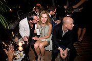 ALEX DE BETAK; NATALIA VODIANOVA; JUSTIN PORTMAN, Rodarte Poolside party to show their latest collection. Hosted by Kate and Laura Muleavy, Alex de Betak and Katherine Ross.  Chateau Marmont. West  Sunset  Boulevard. Los Angeles. 21 February 2009 *** Local Caption *** -DO NOT ARCHIVE -Copyright Photograph by Dafydd Jones. 248 Clapham Rd. London SW9 0PZ. Tel 0207 820 0771. www.dafjones.com<br /> ALEX DE BETAK; NATALIA VODIANOVA; JUSTIN PORTMAN, Rodarte Poolside party to show their latest collection. Hosted by Kate and Laura Muleavy, Alex de Betak and Katherine Ross.  Chateau Marmont. West  Sunset  Boulevard. Los Angeles. 21 February 2009