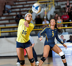 2016 A&T Volleyball vs East Carolina University
