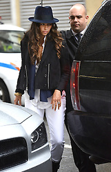 (UK RIGHTS ONLY) Camila Alves takes Vida and Levi to the Children Museum in NYC, USA. 12/03/2013<br />BYLINE MUST READ : EAGLEPRESS/GOTCHA IMAGES<br /><br />Copyright by © Gotcha Images Ltd. All rights reserved.<br />Usage of this image is conditional upon the acceptance <br />of Gotcha Images Ltd, terms and conditions available at<br />www.gotchaimages.com