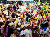 Papal Mass in Yangon