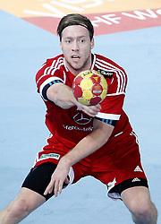 17-01-2013 HANDBAL: WK MANNEN HONGARIJE - SPANJE: CAJA MAGICA<br /> WK Toernooi WK 2013 /  Gabor Csaszar HUN<br /> *** NETHERLANDS ONLY ***<br /> ©2012-FotoHoogendoorn.nl