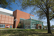 FAYETTEVILLE, AR - April 11:  Exterior of Bud Walton Arena on the campus of the University of Arkansas on April 11, 2007 in Fayetteville, Arkansas.   (Photo by Wesley Hitt/Getty Images) *** Local Caption ***