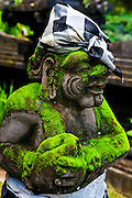 Temples, guardians, offerings, Bali