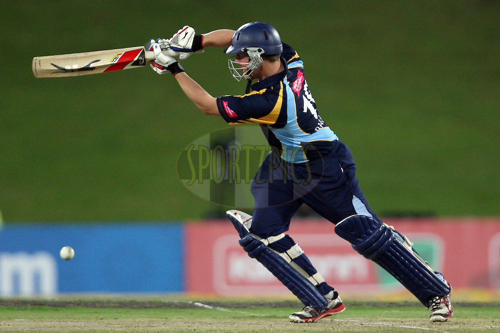 Gary Ballance during the 4th Qualifying match of the Karbonn Smart CLT20 South Africa between Trinidad & Tobago and Yorkshire held at Supersport Park Stadium in Centurion, South Africa on the 10th October 2012. Photo by Jacques Rossouw/SPORTZPICS/CLT20