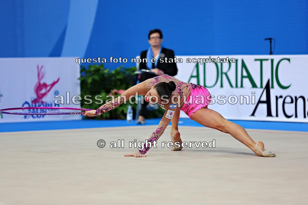 Neta Rivkin was born on 19 June 1991 in Petah Tiqwa is a former Israeli gymnast.<br /> She is one of Israel's most successful rhythmic gymnasts.