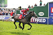ROARING LION (6) ridden by jockey Oisin Murphy and trained by John Gosden wins The Group 2 Betfred Dante Stakes over 1m 2f (£165,000) at at the York Dante Meeting at York Racecourse, York, United Kingdom on 17 May 2018. Picture by Mick Atkins.