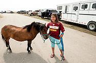 Washington Redskins-social issues-Indian kids-Rocky Boy Rodeo-Rocky Boy Indian Reservation-Montana-pony
