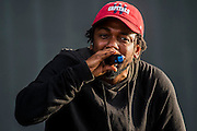 Kendrick Lamar plays the Wireless festival, Finsbury Park, London, UK