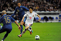 FOOTBALL - FRIENDLY GAME 2012 - FRANCE v JAPAN - STADE DE FRANCE ( SAINT DENIS ) FRANCE - 12/10/2012 - PHOTO JEAN MARIE HERVIO / REGAMEDIA / DPPI - SHINJI KAGAWA (JAP)
