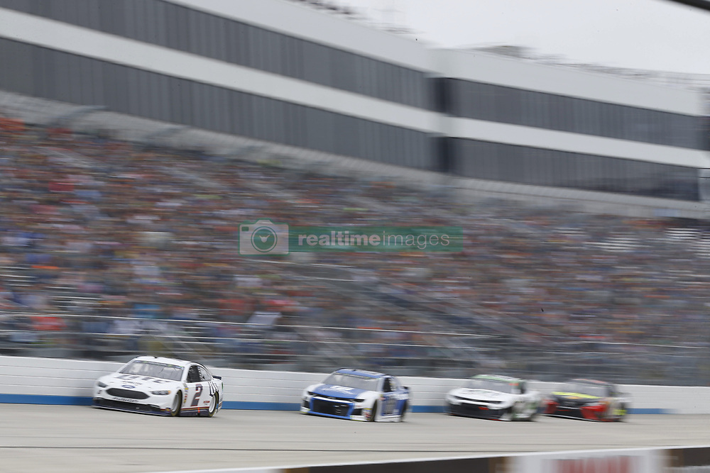 May 6, 2018 - Dover, Delaware, United States of America - Brad Keselowski (2) brings his race car down the front stretch during the AAA 400 Drive for Autism at Dover International Speedway in Dover, Delaware. (Credit Image: © Chris Owens Asp Inc/ASP via ZUMA Wire)