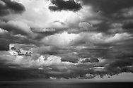 Storm on the Atlantic, black and white