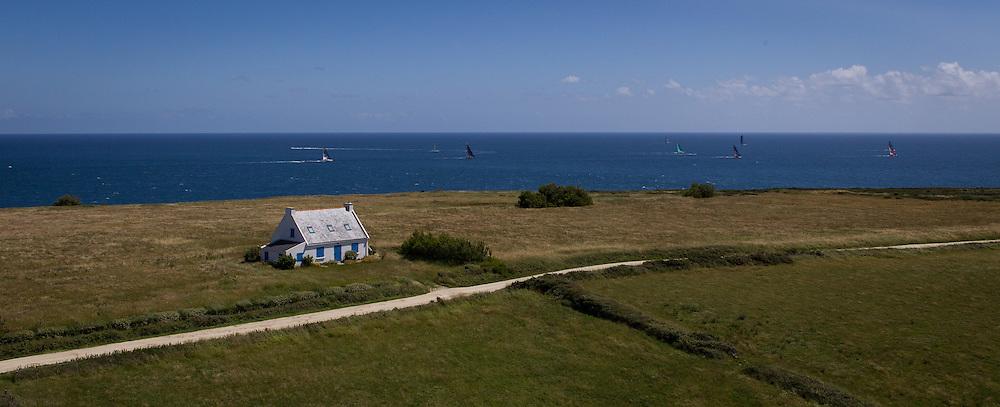 FRANCE, Belle Ile. 1st July 2012. Volvo Ocean Race, Leg 9 Lorient-Galway. Abu Dhabi Ocean Racing.