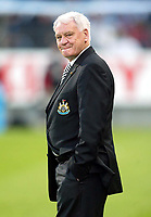 Photo: Scott Heavey, Digitalsport<br /> NORWAY ONLY<br /> <br /> Olimpique Marseille v Newcastle United. UEFA Cup Semi Final, Second Leg. 06/05/2004.<br /> Bobby Robson looks nervous before kick off.