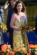 Koningsdag 2014 in de Rijp, het vieren van de verjaardag van de koning. / Kingsday 2014 in the Rijp , celebrating the birthday of the King. <br /> <br /> <br /> Op de foto / On the photo:   Prinses Anita / Princess Anita