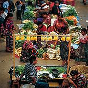 Chichicastenango's market. Guatemala.