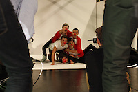 Backstage with One Direction at the studio for RND13