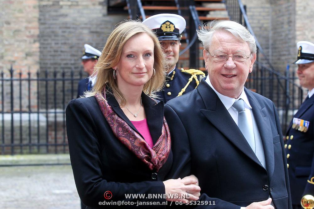 NLD/Den Haag/20110920 - Prinsjesdag 2011, Hans Hillen en ..........