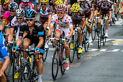 Rafal Majka (POL) of Tinkoff-Saxo, Tour de France, Stage 21: Évry > Paris Champs-Élysées, UCI WorldTour, 2.UWT, Paris Champs-Élysées, France, 27th July 2014, Photo by Thomas van Bracht / PelotonPhotos.com