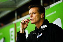 08.02.2011, Eisstadion Liebenau, Graz, AUT, EBEL, Moser Medical Graz 99ers vs HDD Tilia Olimpija Ljubljana, im Bild Bill Giligan (Graz 99ers, Headcoach), EXPA Pictures © 2011, PhotoCredit: EXPA/ Erwin Scheriau