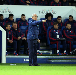 Leicester City Manager Claudio Ranieri - Mandatory byline: Robbie Stephenson/JMP - 28/11/2015 - Football - King Power Stadium - Leicester, England - Leicester City v Manchester United - Barclays Premier League